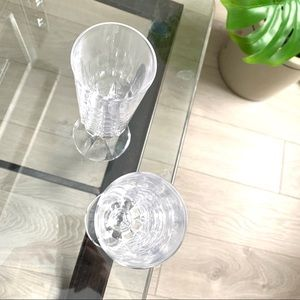 Dining - Pair of Crystal Glasses